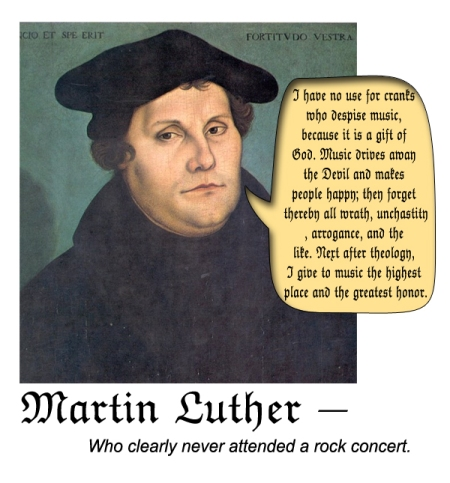MartinLutherMusic