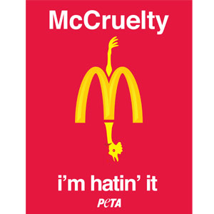Contra Mc Donald Mccruelty