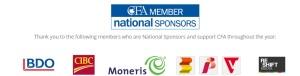 CFA National Sponsors