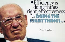 Efficiency drucker