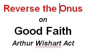 Reverse the onus