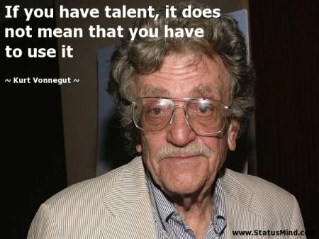 Talent Vonnegut