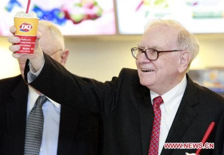 Warren-Buffett dairy queen
